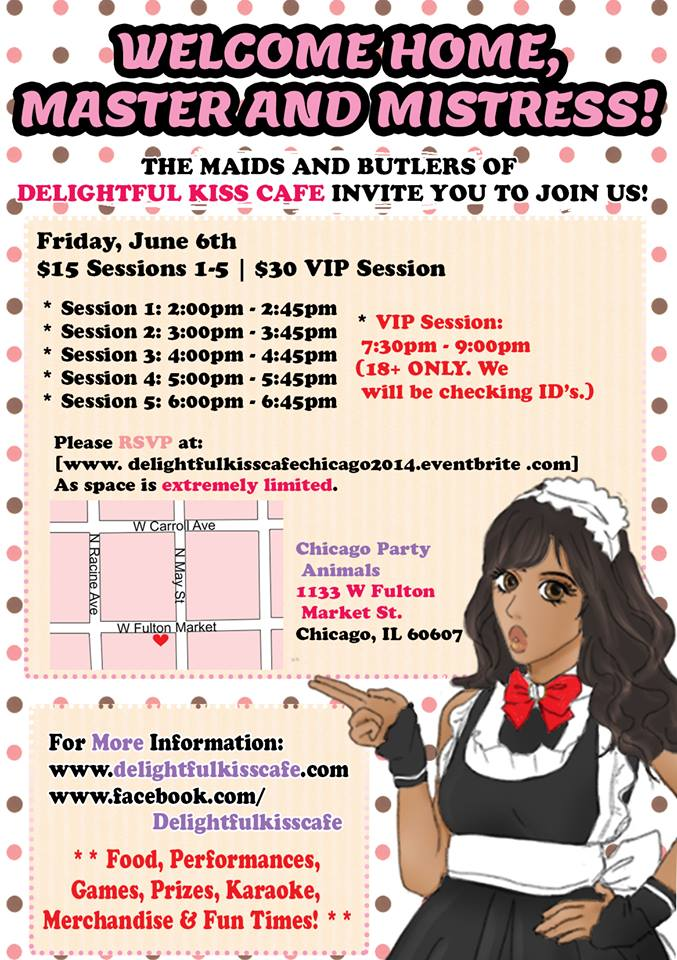 Kiss Maid And Butler Cafe