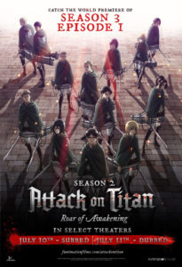 Attack on Titan Season 3 World Premiere