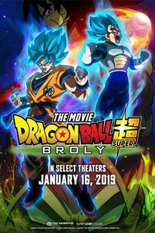 DRAGON BALL SUPER: BROLY January 17th to the 24th